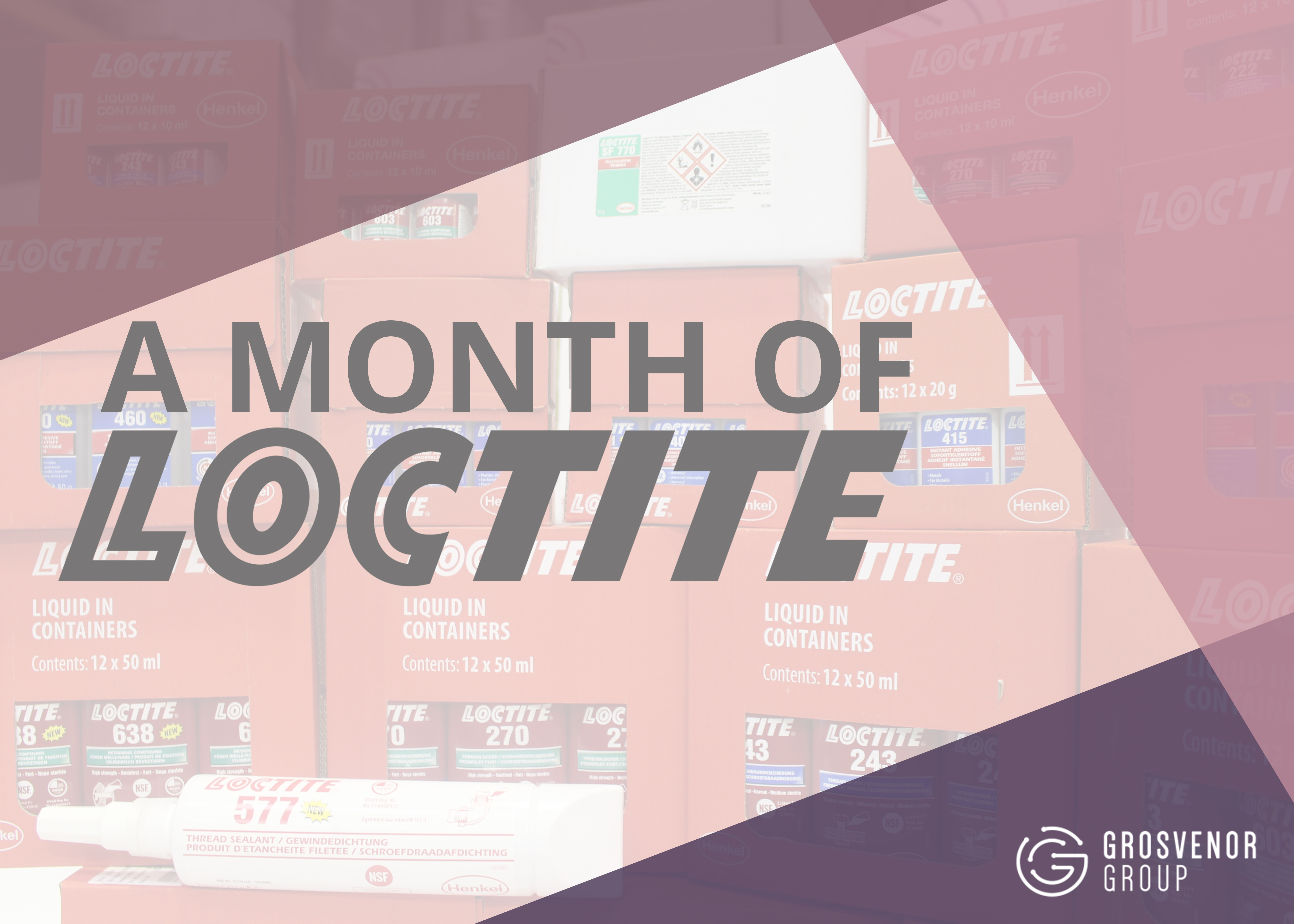 A Month of Loctite
