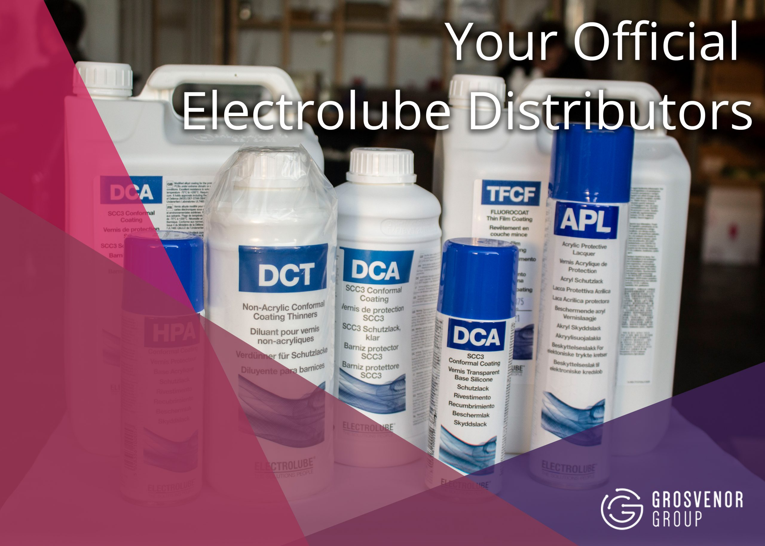 Your Official Electrolube Distributors
