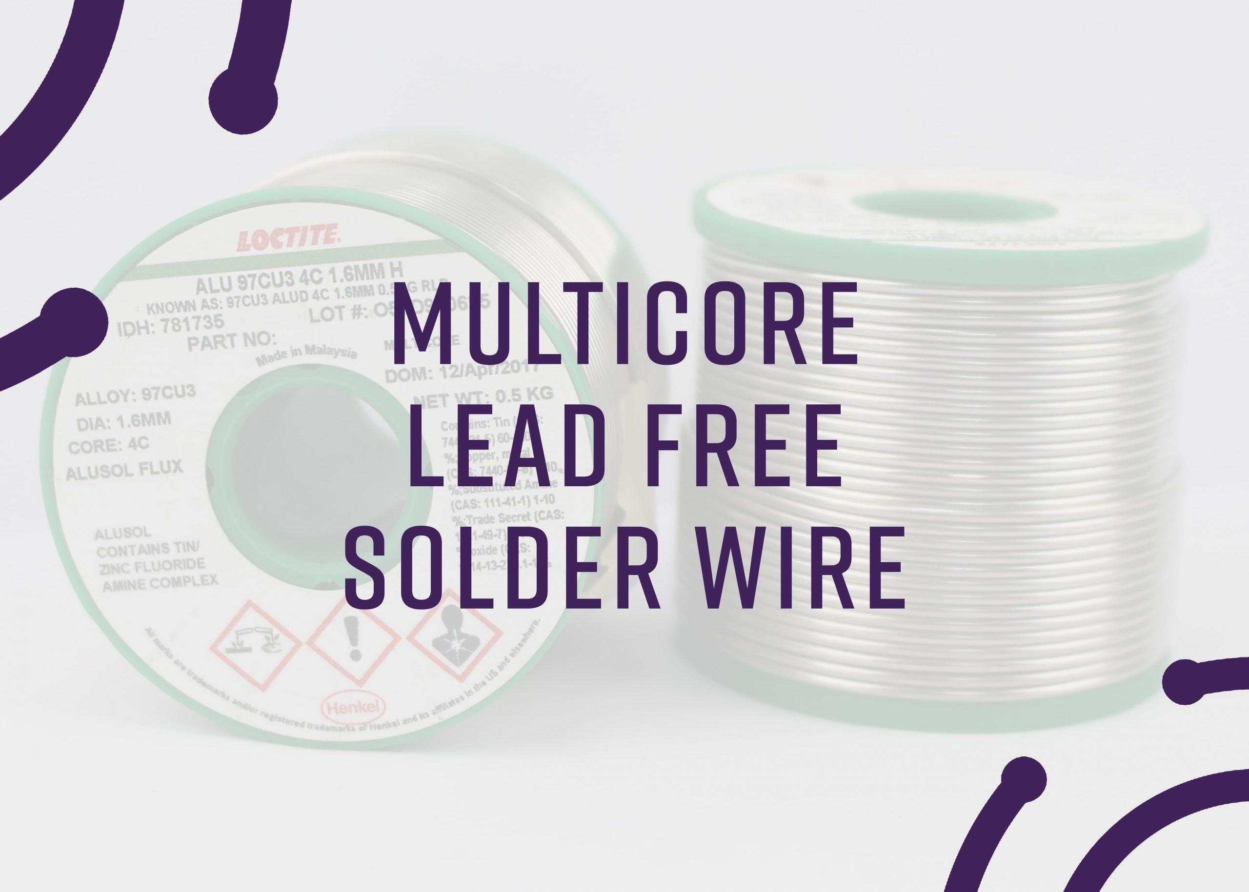 multicore lead free solder wire, multicore solder, lead free solder